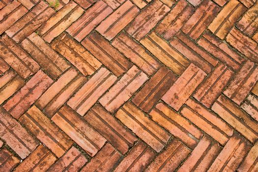 Brick brown brick pattern