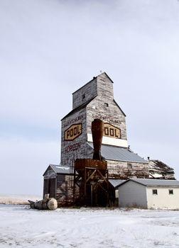 Delapitated Grain Elevator