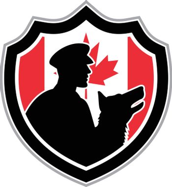 Canadian Police Canine Team Crest