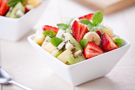 Bowl Of Refreshing Fruit Salad