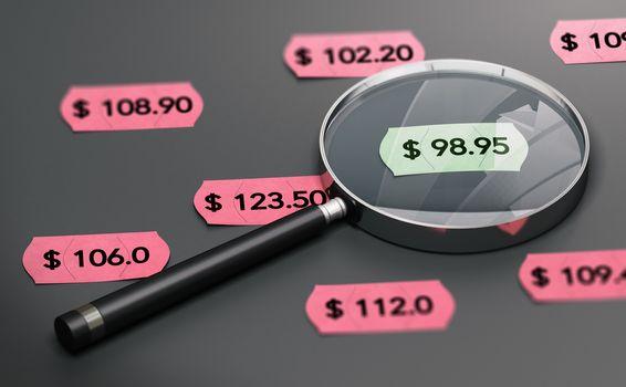 Shop Price Comparison Concept