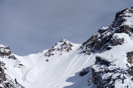 Mountains near Cortina d'Ampezzo