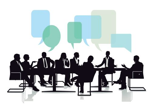Meeting and communicating from a group