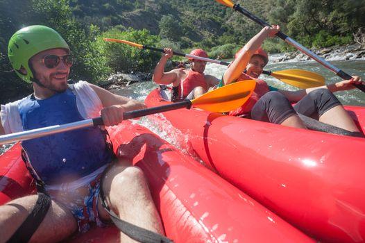 Canoe River Collision
