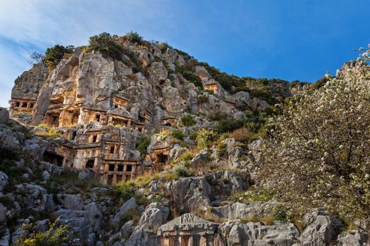 Demre. Tombs of the Ancient Mira