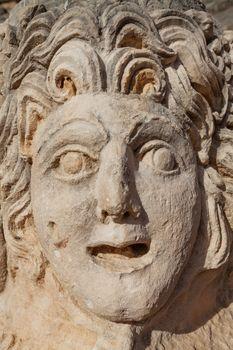 Stone mask in Myra