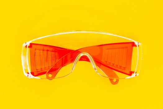 Red Protective Glasses