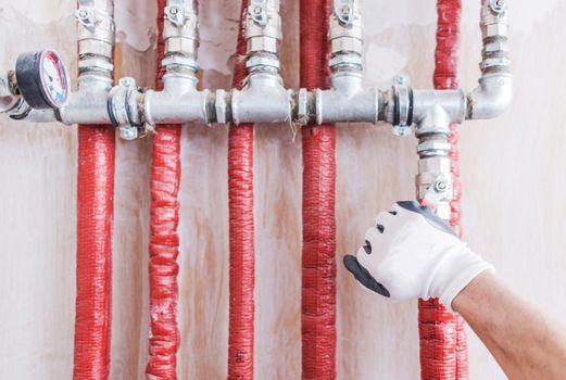 Hydraulic Water Supply System
