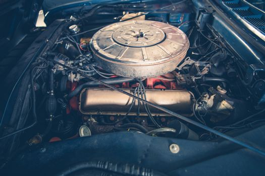 Classic Car Gasoline Engine