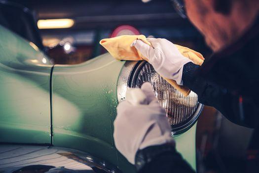 Retro Car Detailing