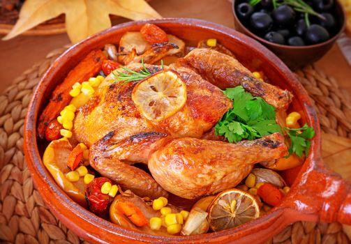 Tasty baked turkey