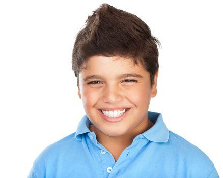 Happy smiling boy