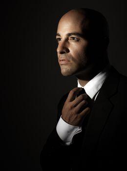 Stylish man portrait
