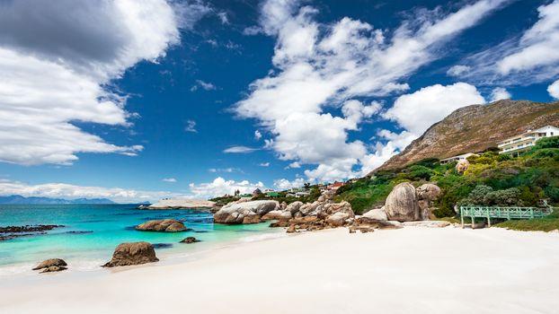 South African beach landscape