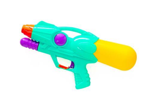Plastic water gun