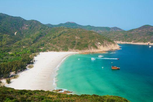 Hong Kong beach at daytime