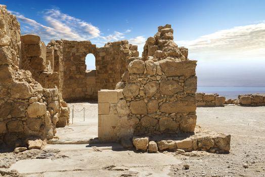 Massada fortress in israel