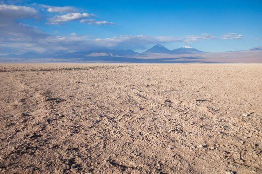 Desert landscape in San Pedro de Atacama, Chile
