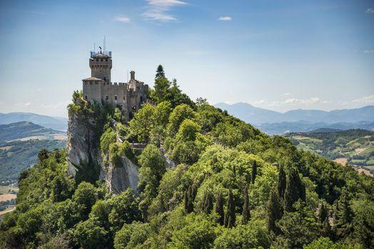 Rocca della Guaita, castle in San Marino republic