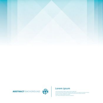 Abstract technology geometric overlap light blue background with