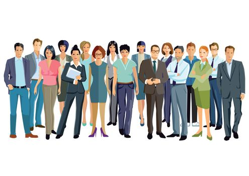 People gathering and partnership