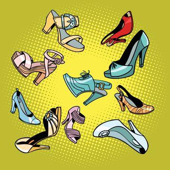Fashionable womens shoes