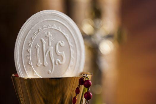 Symbol christianity religion, communion background