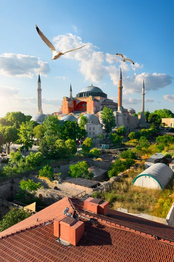 Istanbul at sunny day
