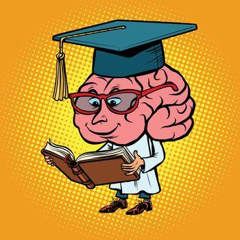 Character brain University Professor