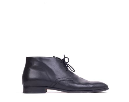 Expensive formal shoe, isolated