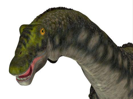 Diamantinasaurus was a herbivorous sauropod dinosaur that lived in Australia during the Cretaceous Period.