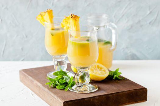 Refreshing Pineapple Juice