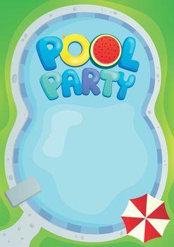Pool party theme image 1
