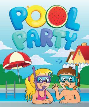 Pool party theme image 3