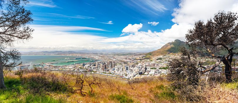 Panoramic view of the Cape Town