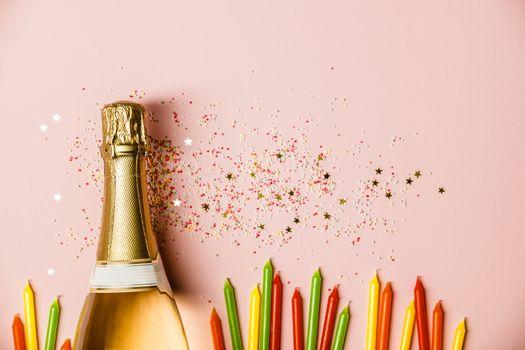 Flat lay of Celebration