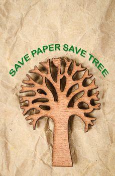 Save paper save tree.