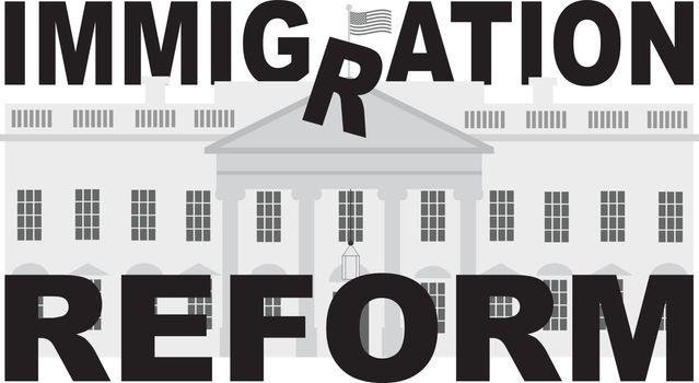 Washington DC White House Immigration Reform