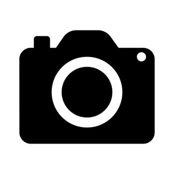 Camera Icon in trendy flat style isolated on white background. Camera symbol for your web site design, logo, app, UI. Vector illustration, EPS10.