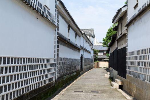 Kurashiki Aesthetic Area in Japan