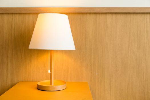 Lamp on bedside