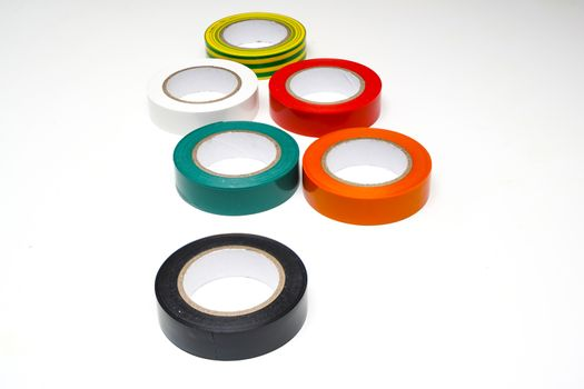 colored insulating tapes