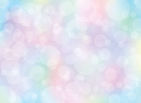 Abstract colorful blurred background with bokeh. You can for use Template, brochure, print, leaflet, banner, website. Vector illustration