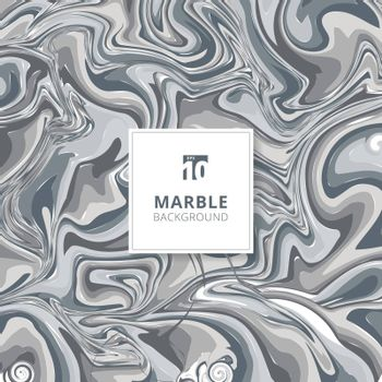Abstract gray watercolor stains. Marble background texture. Vector illustration