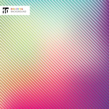 Abstract bright colorful with striped lines texture and background. Vector illustration