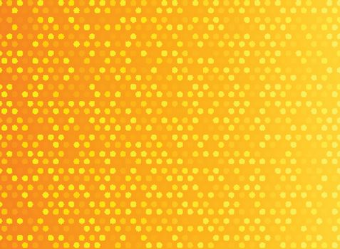Abstract technology digital. Orange pattern dots. Vector illustration