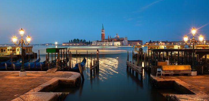View on San Giorgio in Venice