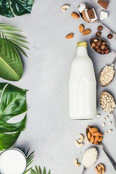 Vegan milk and ingredients