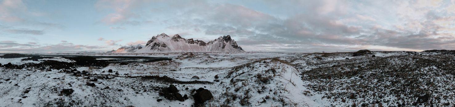 Panorama of Stokksnes