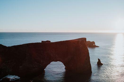 Rocks on Iceland's coast
